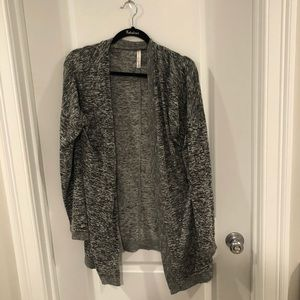 Aeropostale heather grey cardigan size XL
